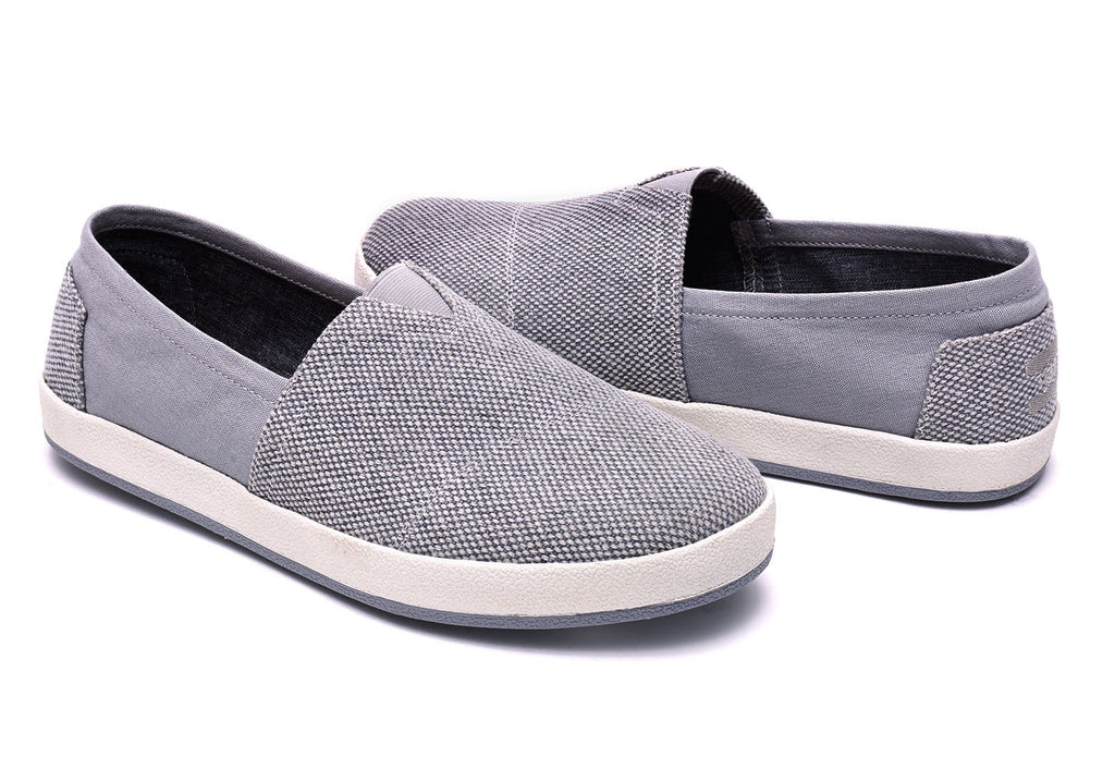 ALLOY GREY FARREN MEN'S AVALON SLIP-ONS - SustainTheFuture.us - The Natural and Organic Way of Life