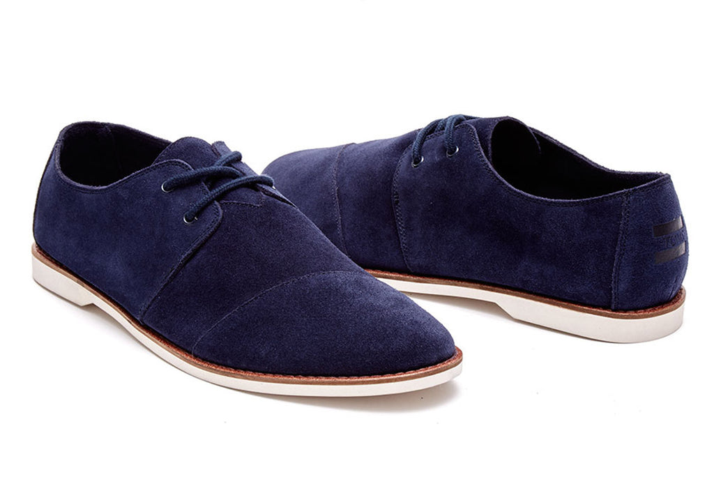 NAVY SUEDE MEN'S HENSLEYS - SustainTheFuture.us - The Natural and Organic Way of Life