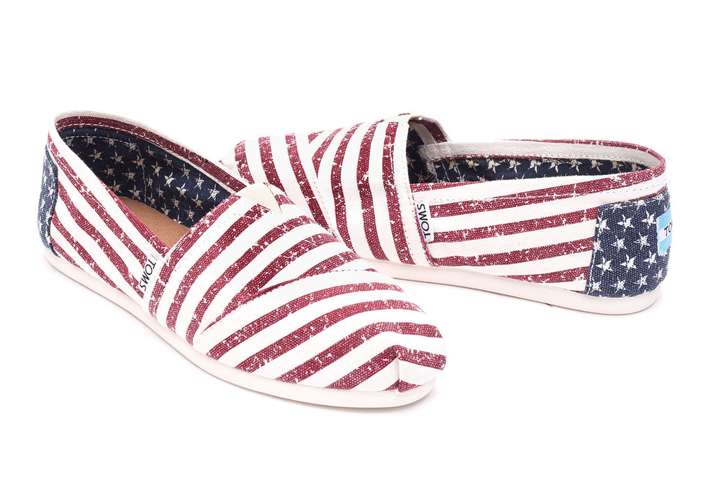 AMERICANA CANVAS FLAG WOMEN'S CLASSICS - SustainTheFuture.us - The Natural and Organic Way of Life