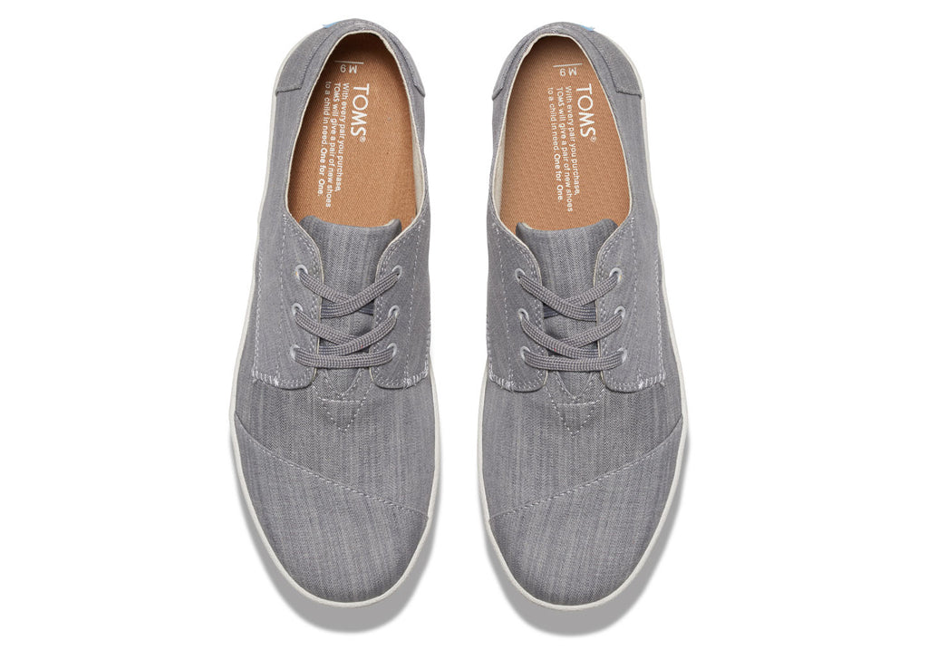 GREY DENIM MEN'S PASEO SNEAKERS