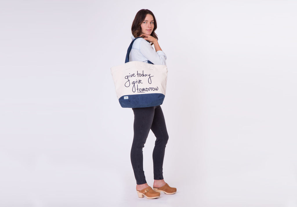 NATURAL GIVE TODAY TRANSPORT TOTE - SustainTheFuture.us - The Natural and Organic Way of Life
