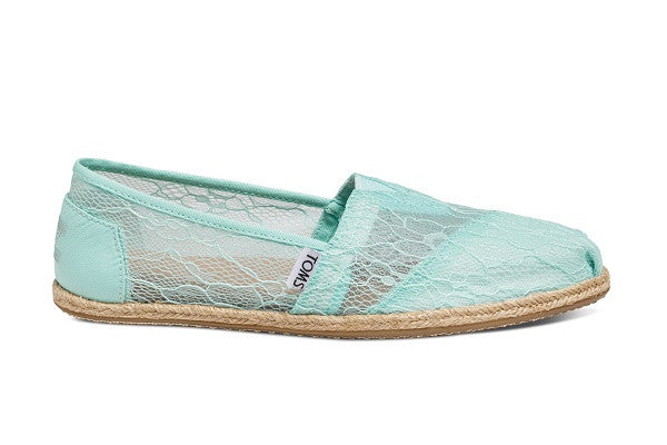 MINT LACE ROPE WOMEN'S CLASSICS - SustainTheFuture.us - The Natural and Organic Way of Life
