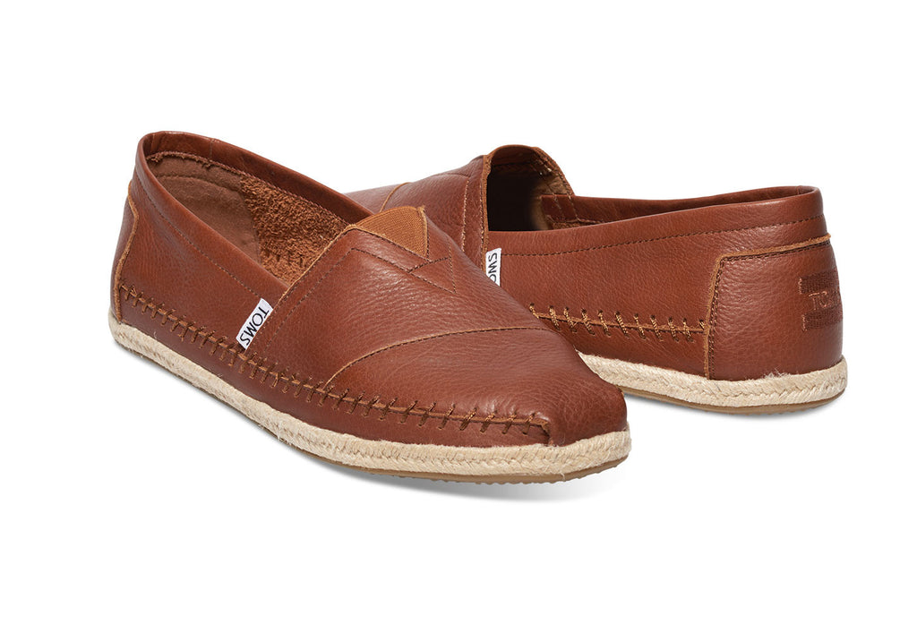 COGNAC FULL GRAIN LEATHER MEN'S CLASSICS