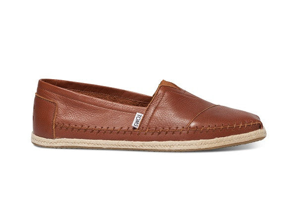 COGNAC FULL GRAIN LEATHER MEN'S CLASSICS - SustainTheFuture.us - The Natural and Organic Way of Life