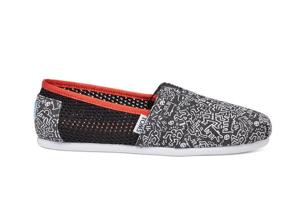 KEITH HARING CHALKBOARD WOMEN'S CLASSICS - SustainTheFuture.us - The Natural and Organic Way of Life