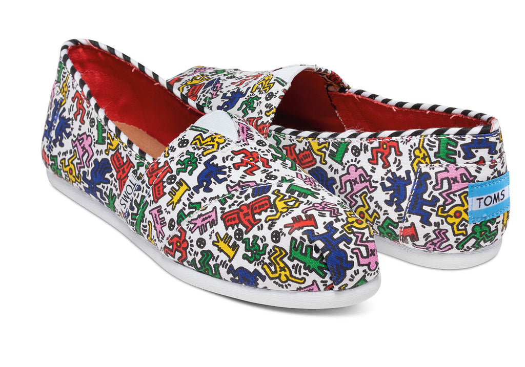 KEITH HARING POP WOMEN'S CLASSICS - SustainTheFuture.us - The Natural and Organic Way of Life