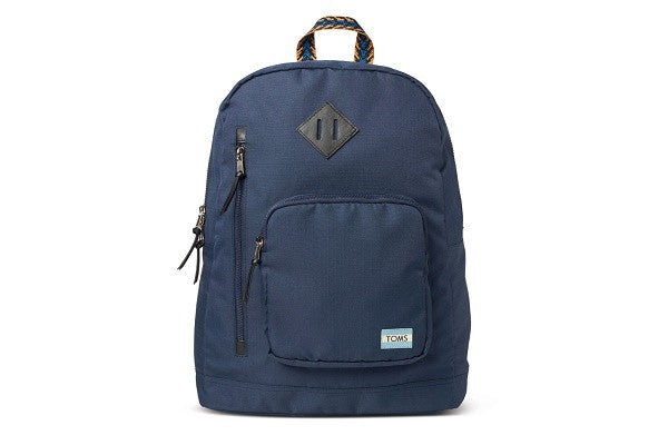 NAVY SOLID RIPSTOP HIGH ROAD BACKPACK - SustainTheFuture.us - The Natural and Organic Way of Life