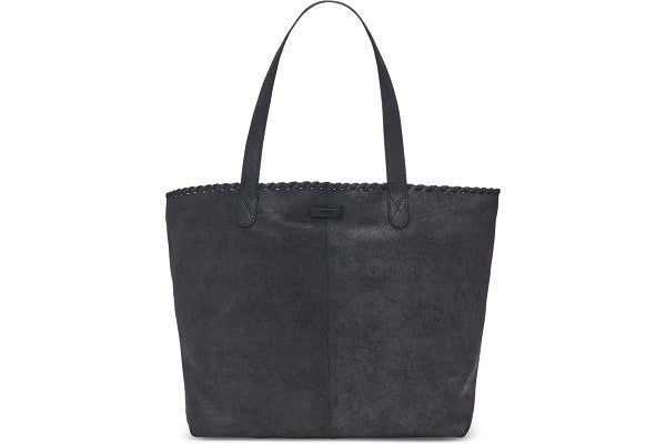 BLACK DISTRESS LEATHER COSMOPOLITAN TOTE - SustainTheFuture.us - The Natural and Organic Way of Life