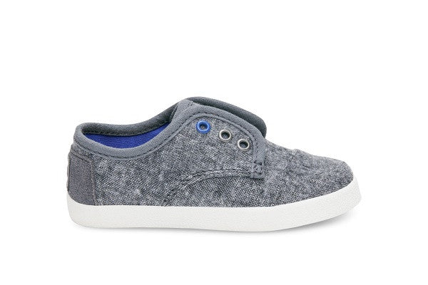 GREY WOOL TINY TOMS PASEO SNEAKERS - SustainTheFuture.us - The Natural and Organic Way of Life