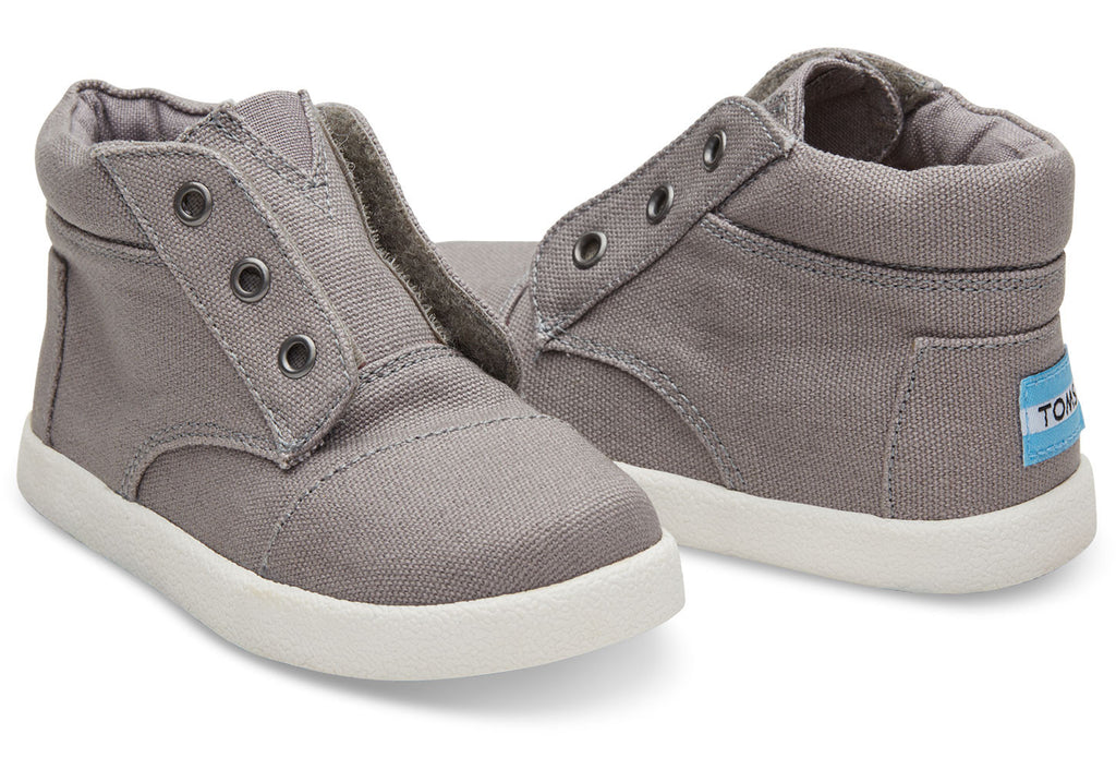 ASH CANVAS TINY TOMS PASEO-HIGH SNEAKERS - SustainTheFuture.us - The Natural and Organic Way of Life