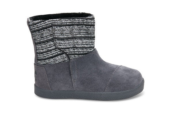 CASTLEROCK METALLIC WOVEN/SUEDE TINY TOMS NEPAL BOOTS - SustainTheFuture.us - The Natural and Organic Way of Life