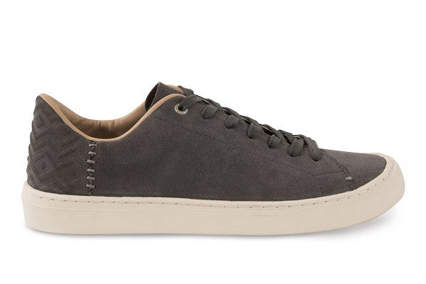 CASTLEROCK GREY SUEDE MEN'S LENOX SNEAKERS - SustainTheFuture.us - The Natural and Organic Way of Life