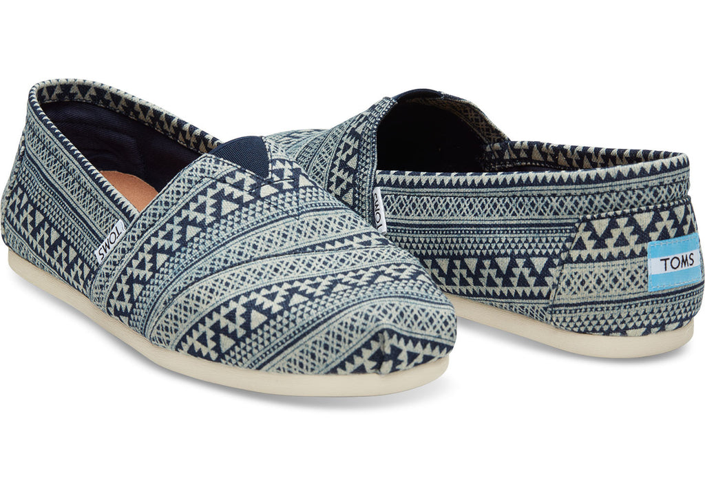 NAVY TRIBAL GEO PRINT MEN'S CLASSICS - SustainTheFuture.us - The Natural and Organic Way of Life