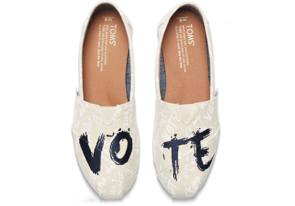 NATURAL CANVAS VOTE WOMEN'S CLASSICS - SustainTheFuture.us - The Natural and Organic Way of Life