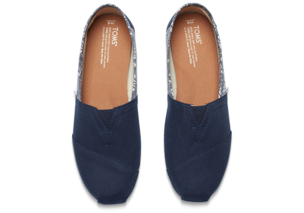 NAVY CANVAS VOTE MEN'S CLASSICS - SustainTheFuture.us - The Natural and Organic Way of Life