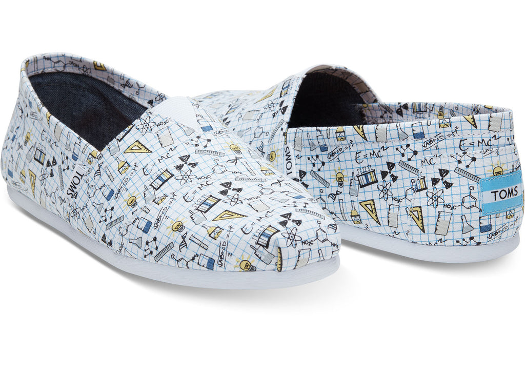 CHEMISTRY PRINT CANVAS MEN'S CLASSICS