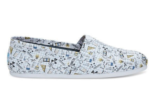 CHEMISTRY PRINT CANVAS MEN'S CLASSICS - SustainTheFuture.us - The Natural and Organic Way of Life