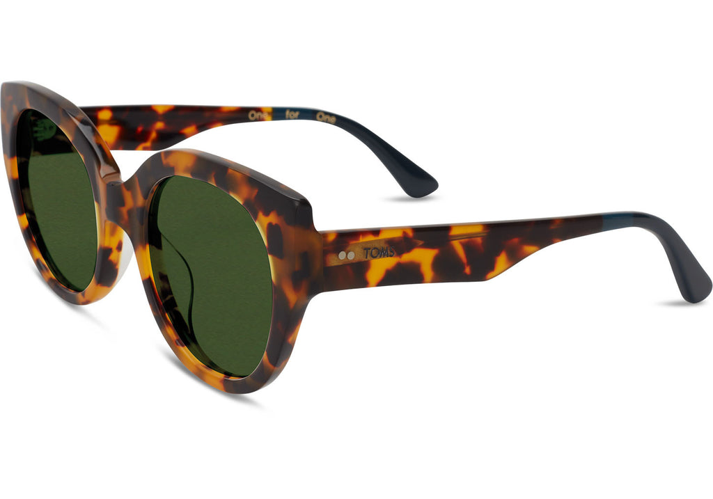 LUISA MATTE HAVANA TORTOISE - SustainTheFuture.us - The Natural and Organic Way of Life