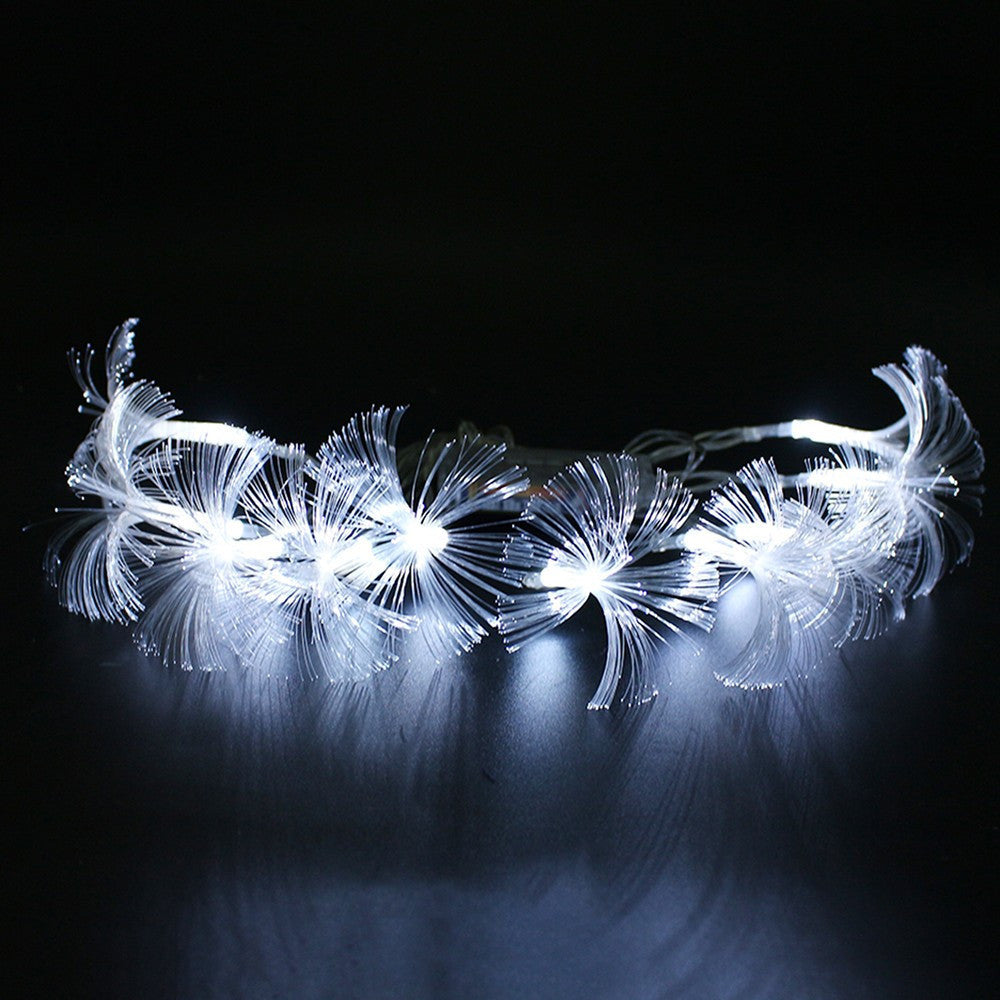 2AA Battery Powered 2.5M 10 LED fiber led Fairy string light For Wedding Garden Party Christmas Decoration holiday Light
