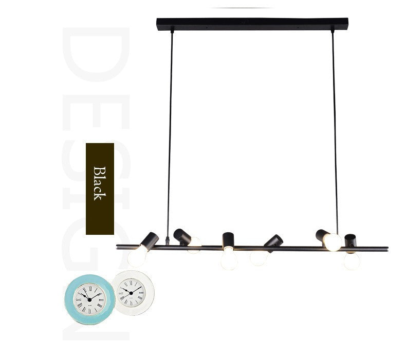 Art Deco Birds Pendant lights Nordic style Hotel Room hanging lamp Creative Modern simple ParlornSix Head Suspension Lamp