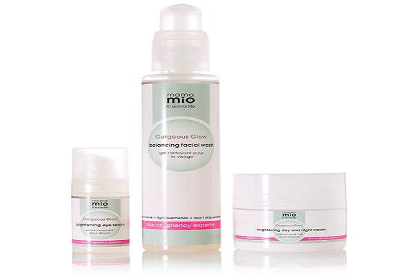 Mama Mio Gorgeous Glow 3-Step Set - SustainTheFuture.us - The Natural and Organic Way of Life