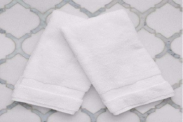 Hand Towels (Pair) - Ring spun for optimal softness - SustainTheFuture.us - The Natural and Organic Way of Life