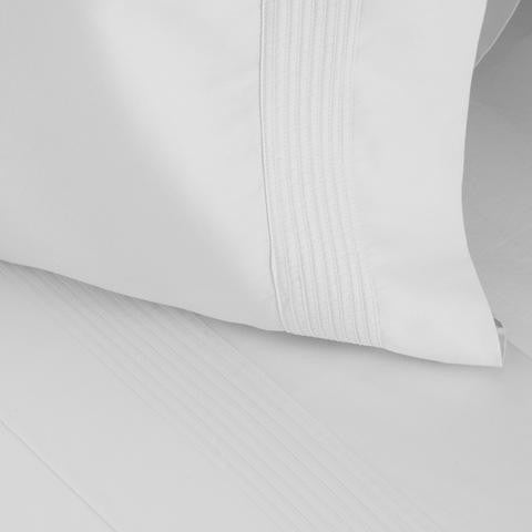 Pleated Sheet Set - 100%-certified organic with eco-friendly, non-toxic dyes
