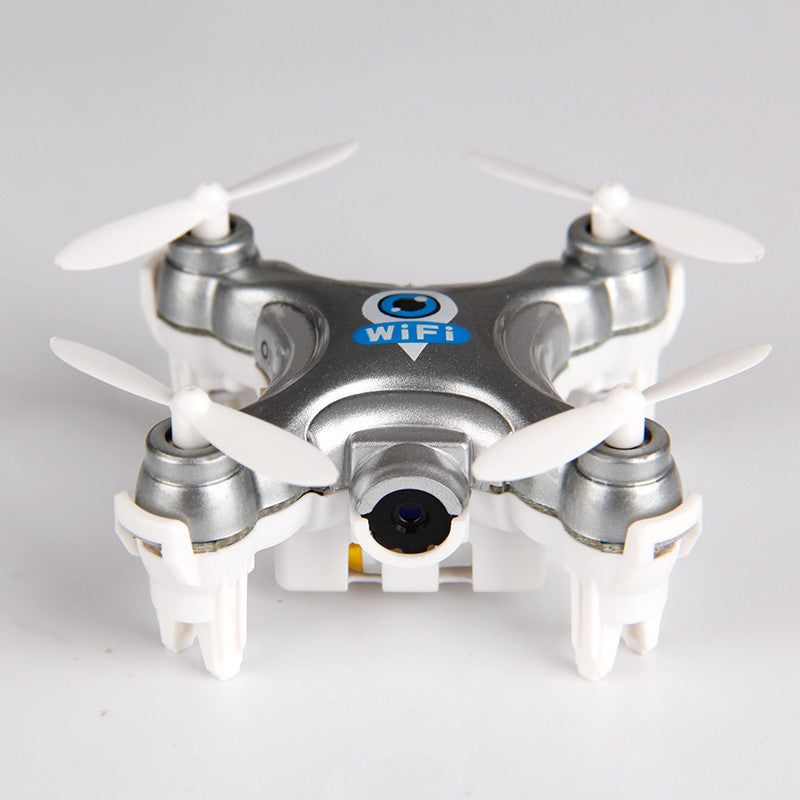 2016 Minitudou Pocket Drone With Wifi Camera Cheerson CX-10W RC Quadcopter CX-10C FPV Phone Control Predator Drone