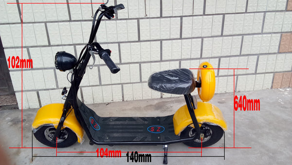 48v12ah800w-YK-XHL-01-Electric scooter for children of mini electric bicycle