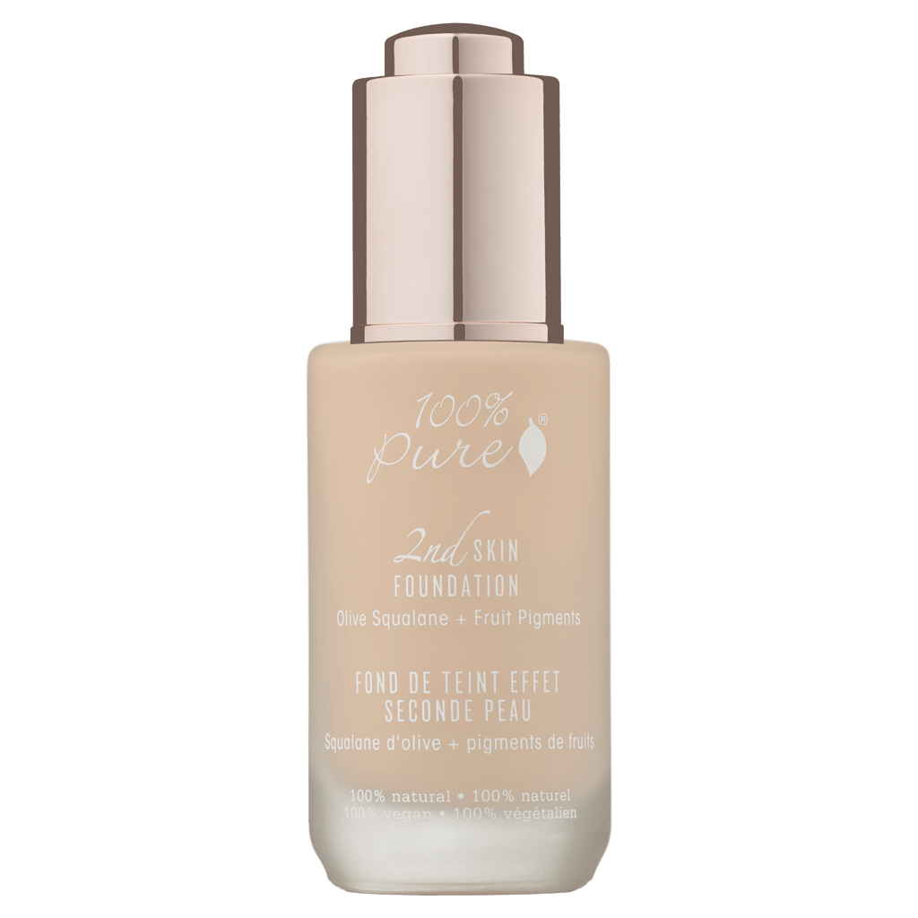 2nd Skin Foundation: Creme Olive Squalane + Fruit Pigments