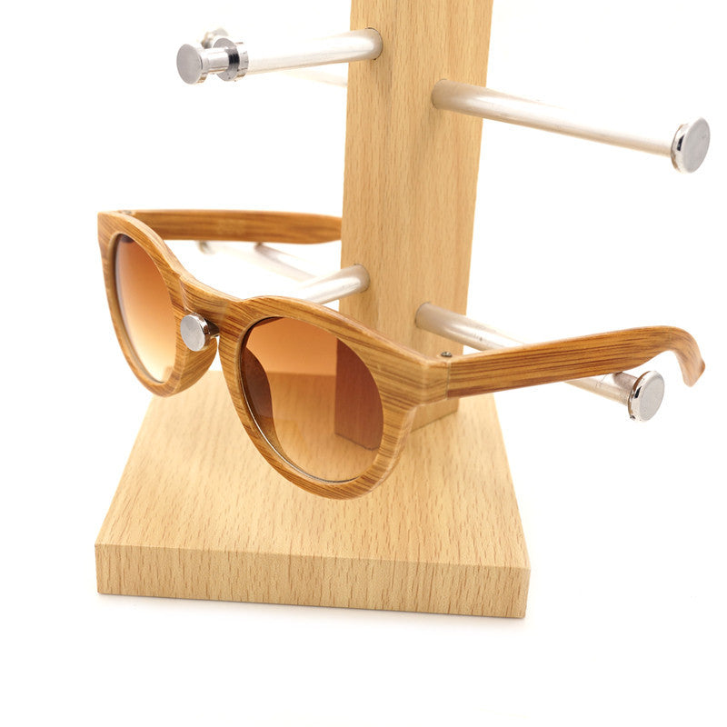 HOT SALE Women Sunglasses Retro Vintage Imitation Bamboo Sunglasses Plastic Frame Sunglasses for Women and Men Casual