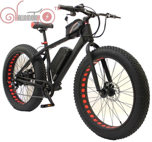 36V 500W Bafang Motor Snow eBike Fat Tire Electric Bicycle - SustainTheFuture.us - The Natural and Organic Way of Life