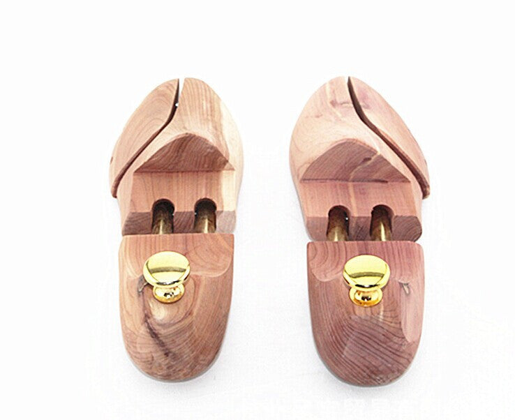 1PAIR 2016 New High quality wooden Shoe Trees Stretcher,Natural Cedar From New Zealand deodorizing function wood craft W0010