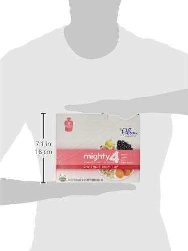 Plum Organics Tots Mighty 4 Essential Nutrition Blend Pouch - Omega-3 ala from chia