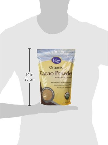 Viva Labs - The BEST Tasting Certified Organic Cacao Powder - Non-GMO