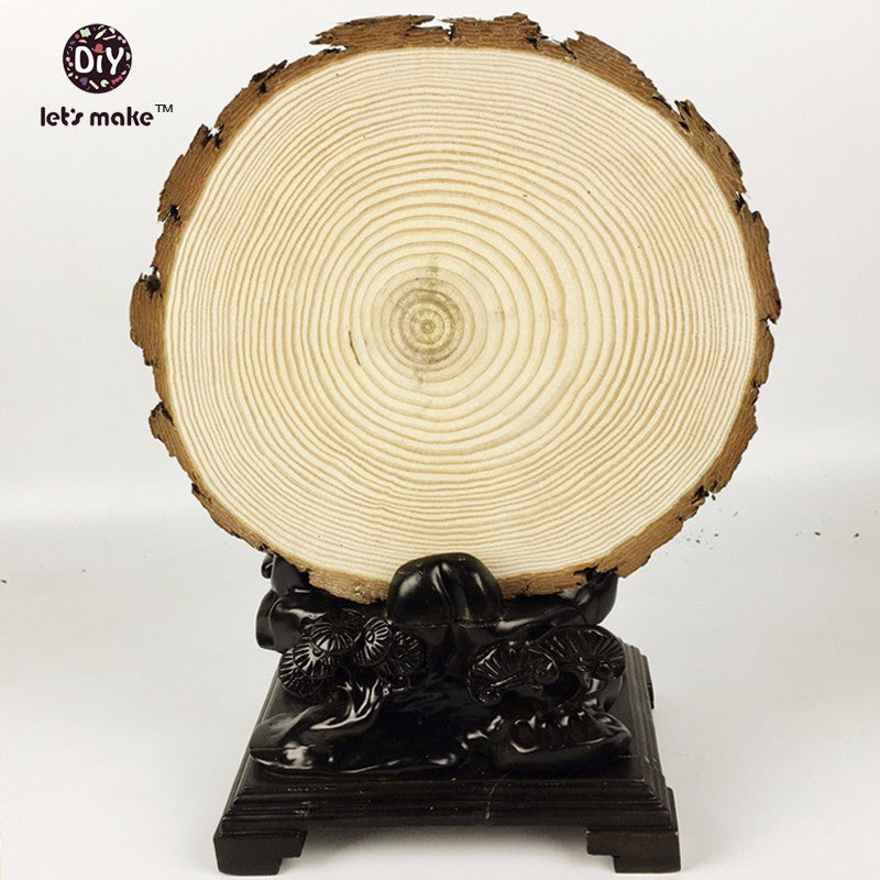 (30-33cm H 1.5-1.8cm) natural  tree slices Wood Slice rough cut rounds  Rustic wood slices for weddings decor crafts Christmas