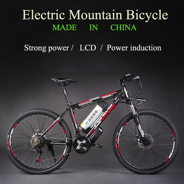 26 inch aluminum alloy electric mountain bike 48 v mountain electric bicycle lithium batteries instead of walking - SustainTheFuture.us - The Natural and Organic Way of Life
