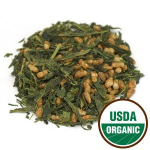 Genmaicha Tea Organic (China) - SustainTheFuture.us - The Natural and Organic Way of Life
