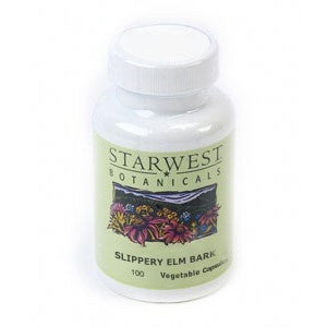 Slippery Elm Bark Capsules -  Made with Organic Herbs