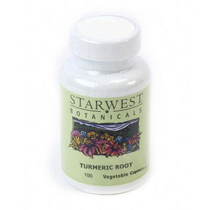Turmeric Root Capsules - made with Organic Herbs