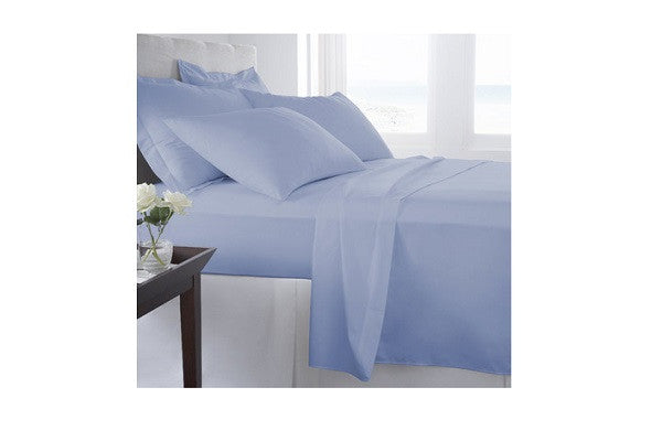 500 Thread Count 100% Organic Cotton Solid Sheet Set - SustainTheFuture.us - The Natural and Organic Way of Life