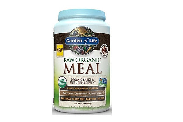Garden of Life Raw Organic Meal Chocolate 986g Powder - Provides the nutrition - SustainTheFuture.us - The Natural and Organic Way of Life
