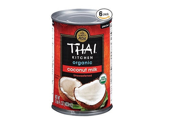 Thai Kitchen Organic Coconut Milk, Premium, First Pressing (Pack of 6) - Unsweetened
