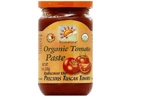 Bionaturae Organic Tomato Paste 7 oz - Unparalleled flavor, sweet and tender - SustainTheFuture.us - The Natural and Organic Way of Life
