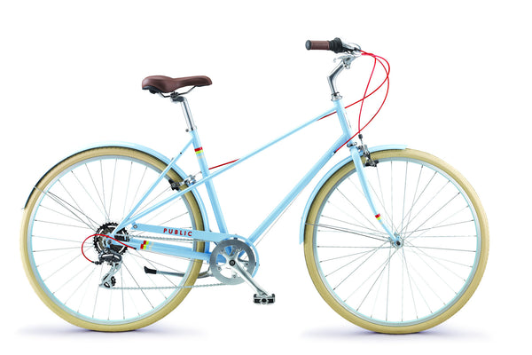 PUBLIC M7 Bike Affordable Comfort Mixte Bike