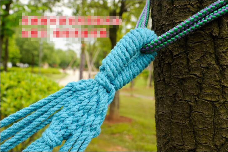1 Set Free Shipping Portable 150 kg Load-bearing Outdoor Garden Hammock Hang Bed Travel Camping Swing Survival Outdoor Sleeping