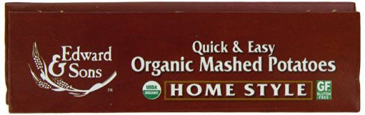 Edward & Sons Organic Mashed Potatoes, Home Style (Pack of 6) - Kosher - SustainTheFuture.us - The Natural and Organic Way of Life