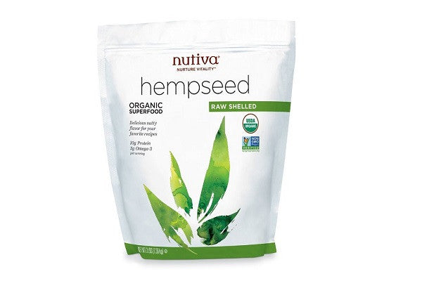Nutiva Organic Shelled Hempseed - 33% protein; 9% omega-3; rich in iron