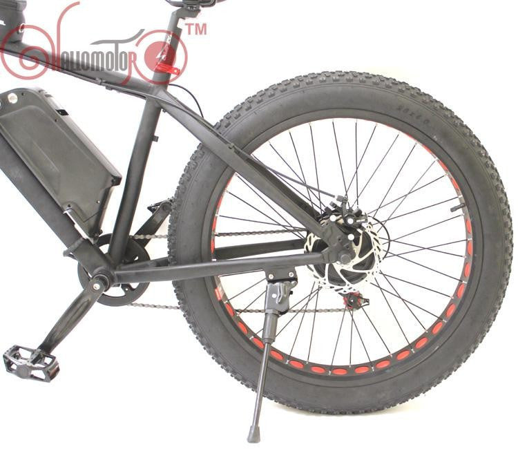 36V 500W Bafang Motor Snow eBike Fat Tire Electric Bicycle
