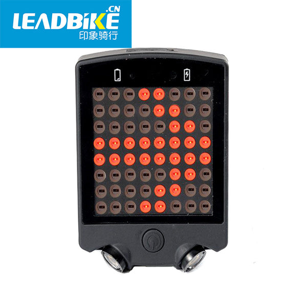 2016 NEW 64 LED Laser Bicycle Rear Tail Light USB Rechargeable With Wireless Remote Bike Turn Signals Safety Warning Light